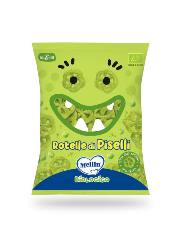 MELLIN - Rotelle di piselli 15 gr - MELLIN - Snack per bambini