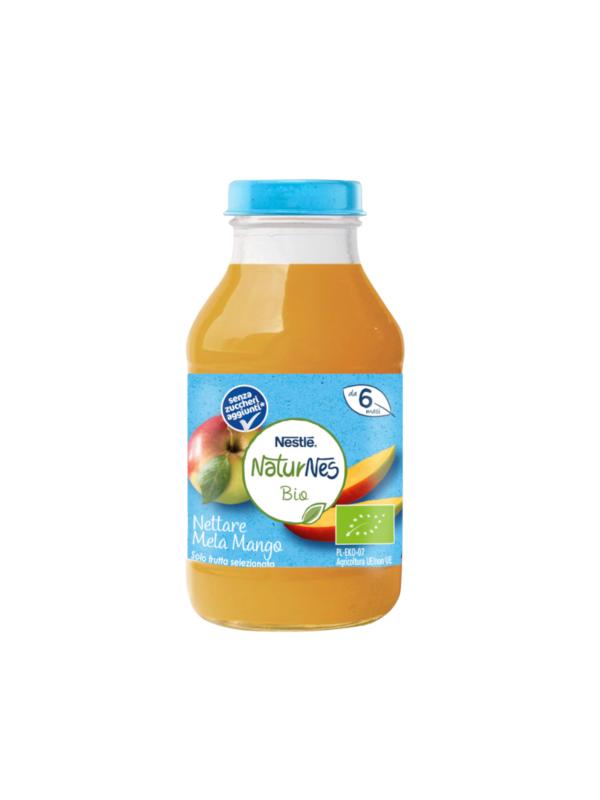 NATURNES - Nettare bio mela mango 200 ml - NATURNES BIO - Succhi di frutta per bambini