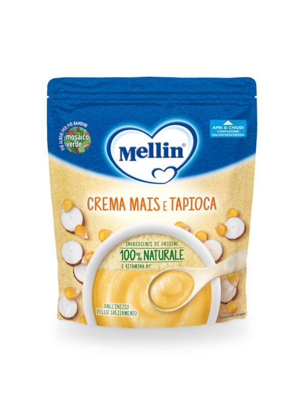 MELLIN - Crema mais e tapioca 200 gr - MELLIN - Creme e Pappe Lattee