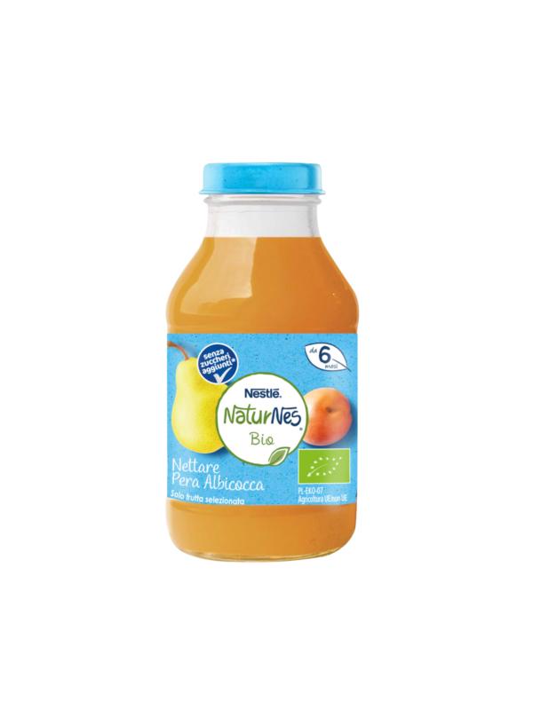 NATURNES - Nettare bio pera albicocca 200 ml - NATURNES BIO - Succhi di frutta per bambini