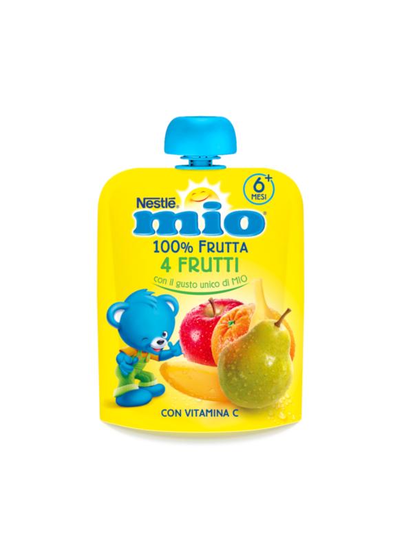 NESTLE' - Mio pouch 4 frutti 90 gr - NESTLE' - Merende da bere