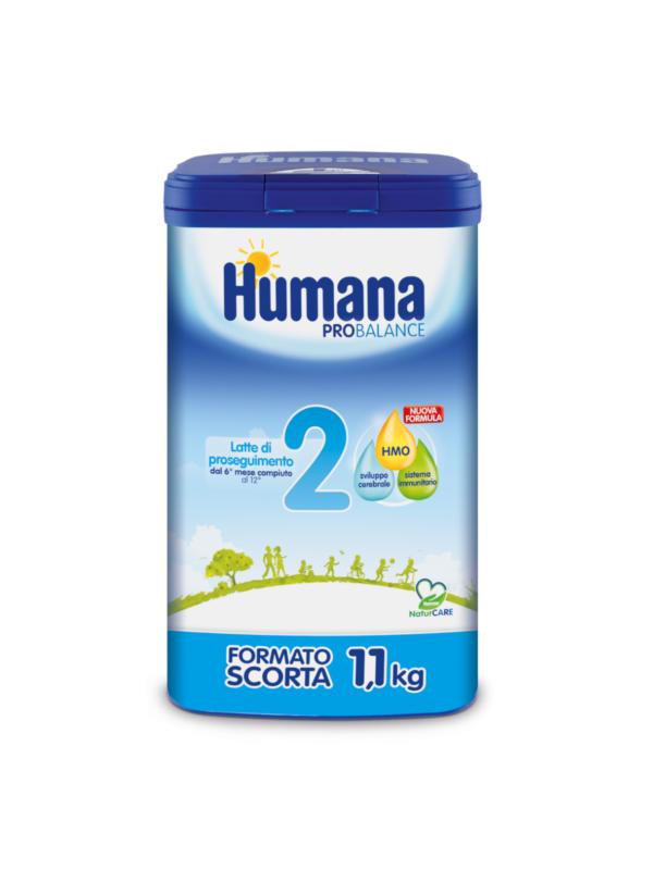 HUMANA 2 polvere 1100 gr - HUMANA - Latte 2