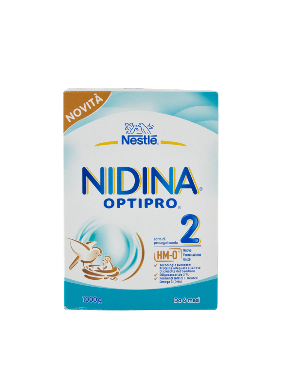 NESTLE' -  Nidina OPTIPRO 2, 1 KG - NESTLE' - Latte 2