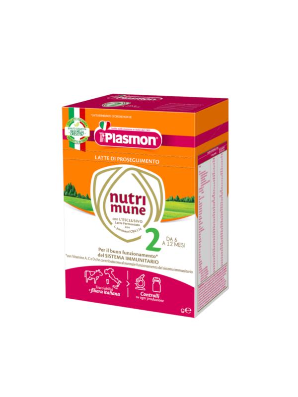PLASMON - Nutrimune 2 polvere 1100gr - Plasmon - Latte 2