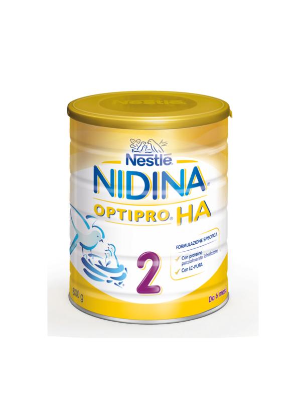 NESTLE' - NIDINA Optipro 2 HA 800 gr - NESTLE' - Latte 2
