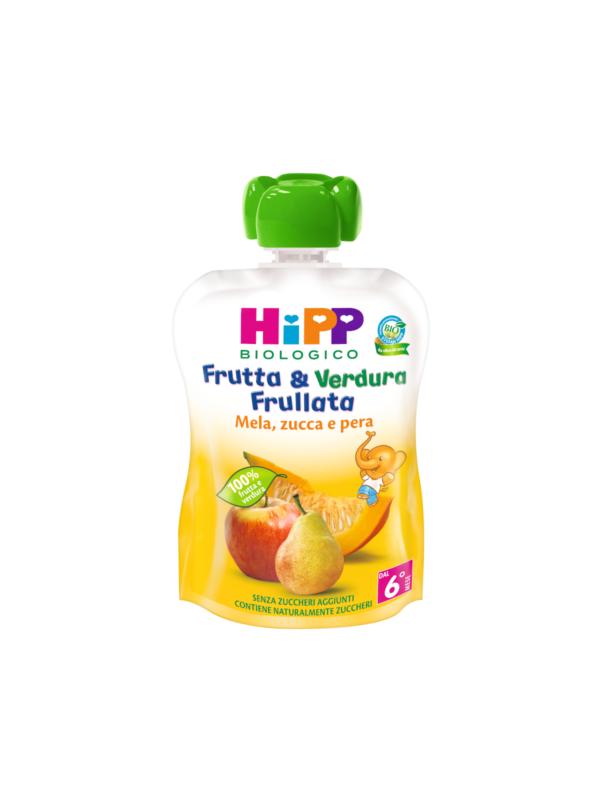 Frutta e verdura frullata mela pera e zucca 90 gr - HiPP