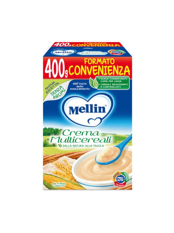 MELLIN Crema multicereali 400 gr - MELLIN - Creme e Pappe Lattee