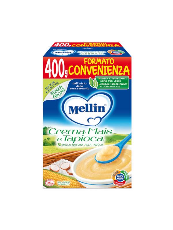 MELLIN Crema mais e tapioca 400 gr - MELLIN - Creme e Pappe Lattee