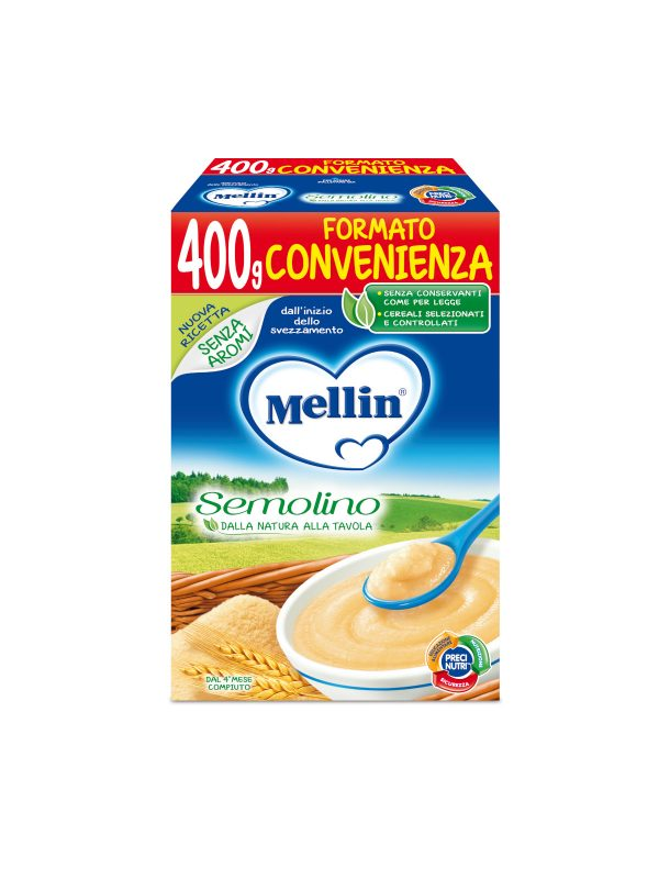 MELLIN Semolino 400 gr - MELLIN - Creme e Pappe Lattee