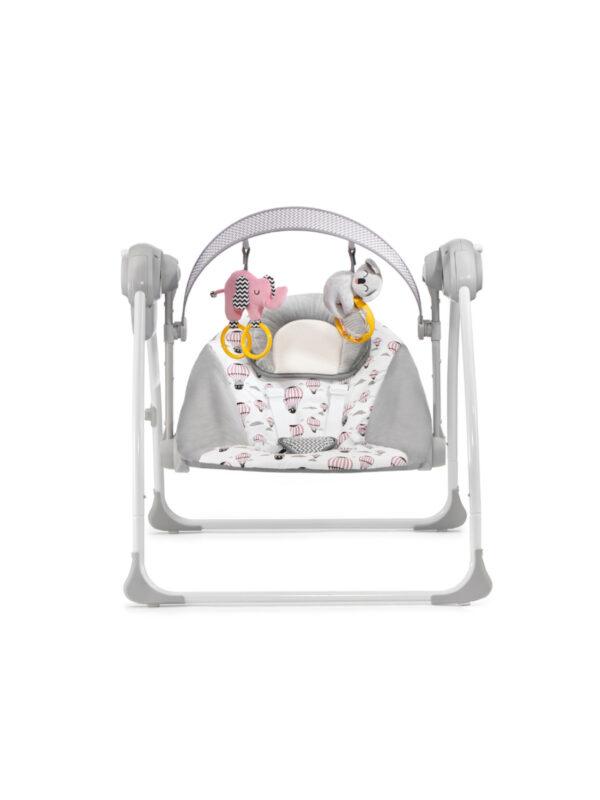 Kinderkraft Altalena e sdraietta a dondolo FLO pink - KinderKraft - Sdraiette e altalene