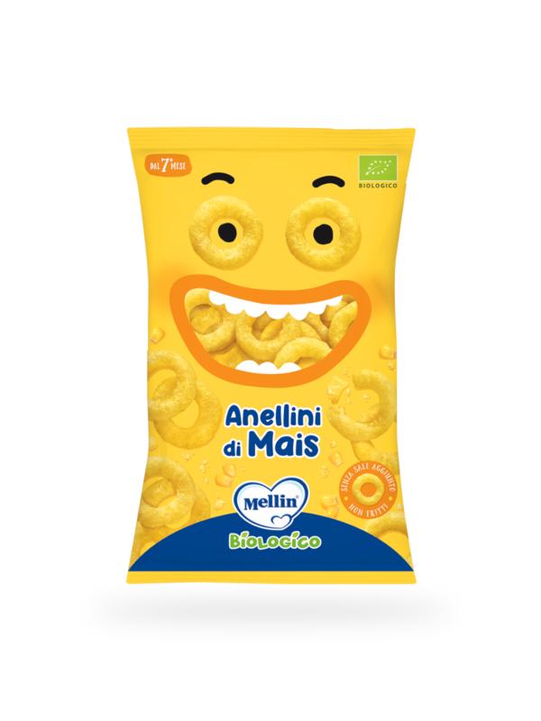 MELLIN Anellini di mais 15 gr - MELLIN - Snack per bambini