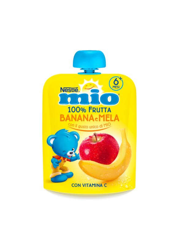 NESTLE' - Mio pouch mela banana 90 gr - NESTLE' - Merende da bere