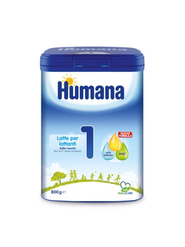 HUMANA Latte 1 polvere 800 gr - HUMANA - Latte 1