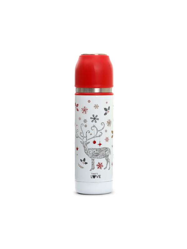 Thermos 400 ml con filtro Renna Winter Edition