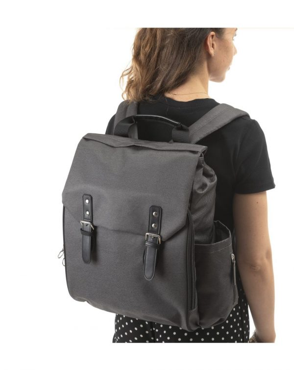 ON THE GO BACKPACK DARK GREY - Accessori passeggini