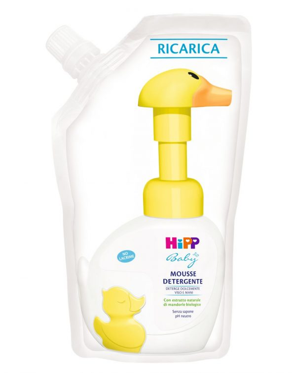 Ricarica mousse paperella 200 ml - Cura e cosmesi bambino