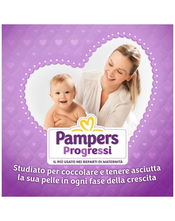 Pampers - pannolini progressi pentapack tg. 5 (93 pz) - Taglia 5 (11-25 kg)
