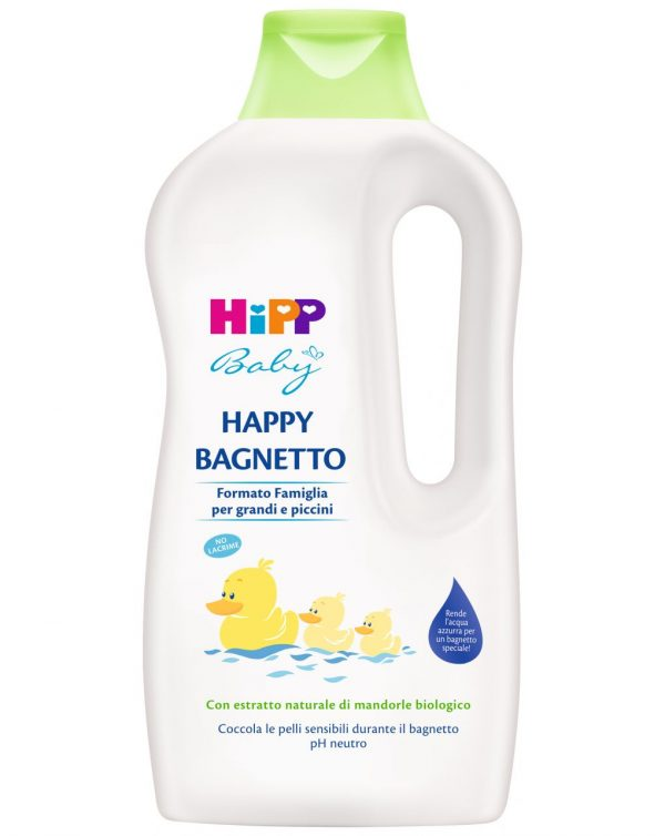 Happy bagnetto formato famiglia 1000 ml - Cura e cosmesi bambino