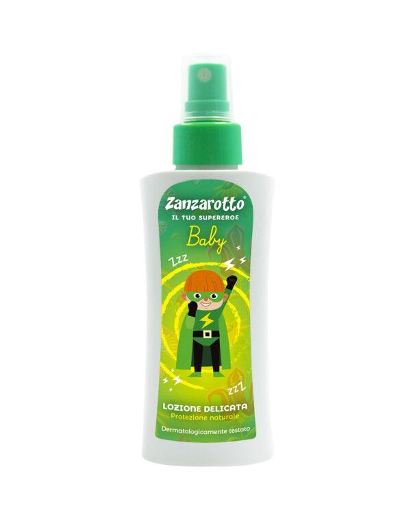Zanzarotto spray lozione delicata 100ml - Protezione solare e Antizanzare