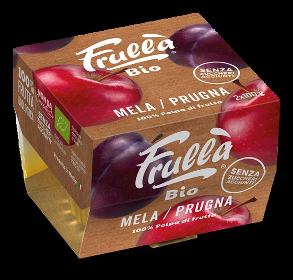POLPA MELA PRUGNA BIO 2X100GR - Natura Nuova Bio - Frutta frullata