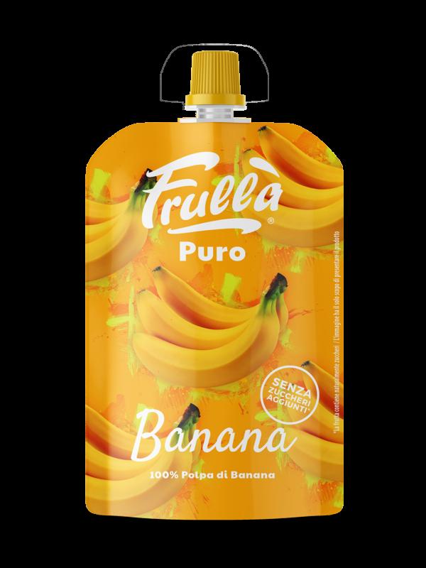 FRUTTA FRULLATA PURO BANANA 100% 90GR - Frullà - Frutta frullata