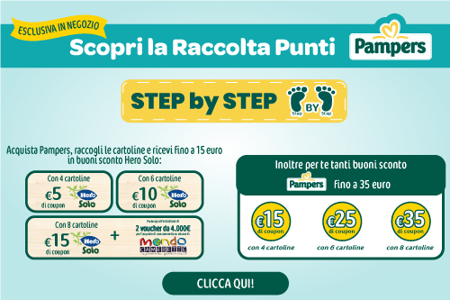 Concorso Pampers step by step
