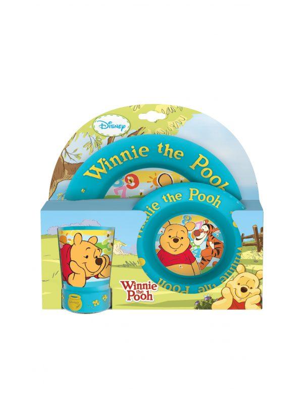 Oled - Set Pappa 3 pz. 3D Winnie The Pooh - Piatti e Set Pappa