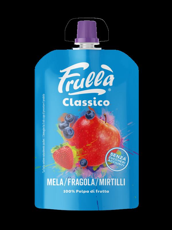 FRUTTA FRULLATA MELA FRAGOLA MIRTILLO 100GR - Frullà - Frutta frullata
