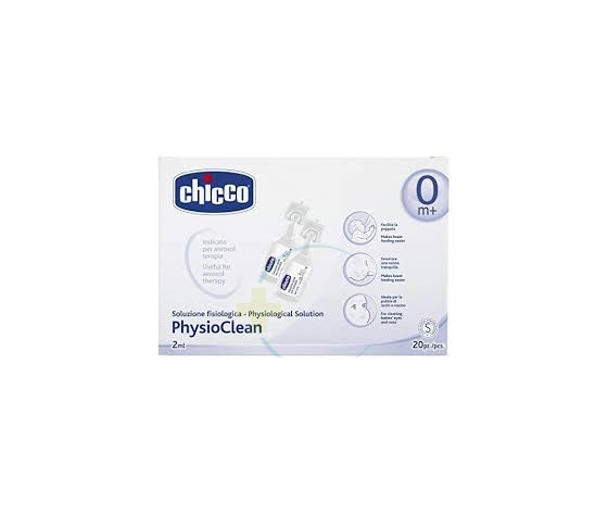 Chicco Soluzione Fisiologica 2ml 20 pz - CHICCO - Aerosol e umidificatori