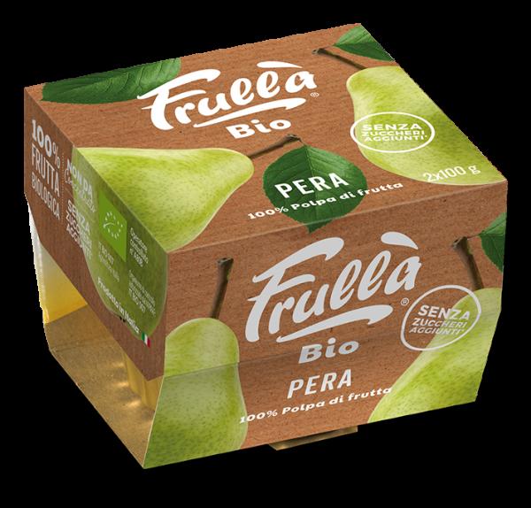 POLPA PERA BIO 2X100GR - Natura Nuova Bio - Frutta frullata