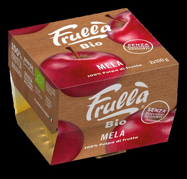 POLPA MELA BIO 2X100GR - Natura Nuova Bio - Frutta frullata