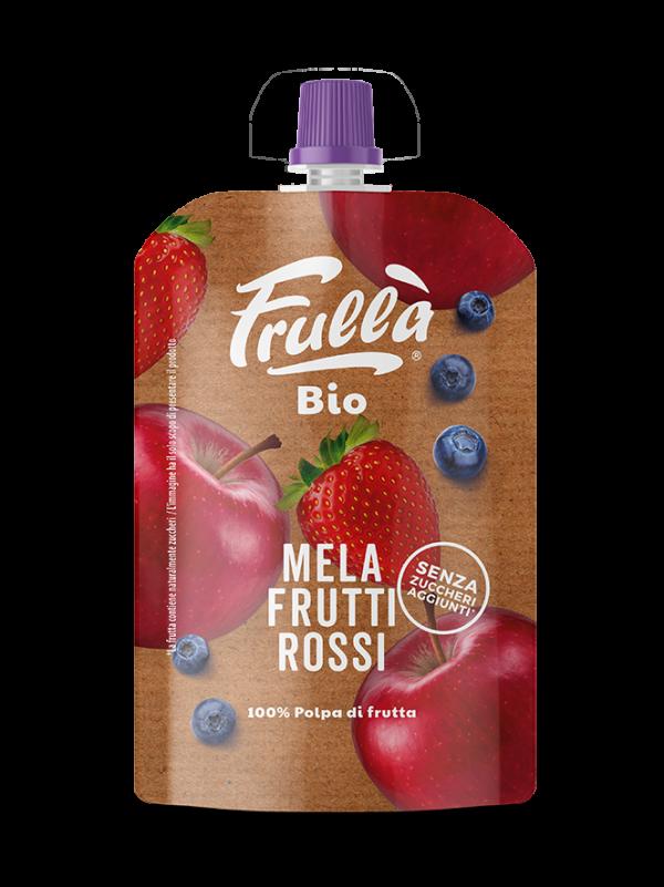 FRUTTA FRULLATA BIO FRUTTI ROSSI 100GR - Natura Nuova Bio - Frutta frullata