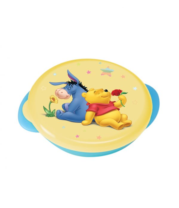 Oled - Piatto Fondo Con Coperchio Winnie The Pooh - Piatti e Set Pappa
