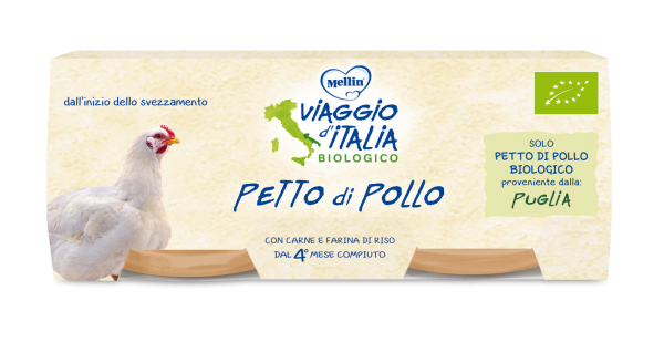 Omogeneizzato Bio Petto di pollo - VIAGGIO D'ITALIA - Omogeneizzato carne