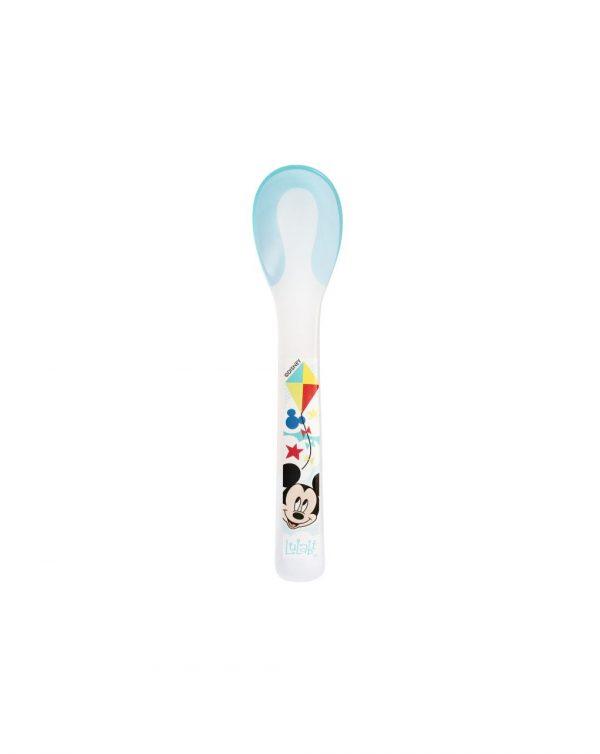 Disney - Cucchiaino in polipropilene Mickey Simply - LULABI - Piatti e Set Pappa