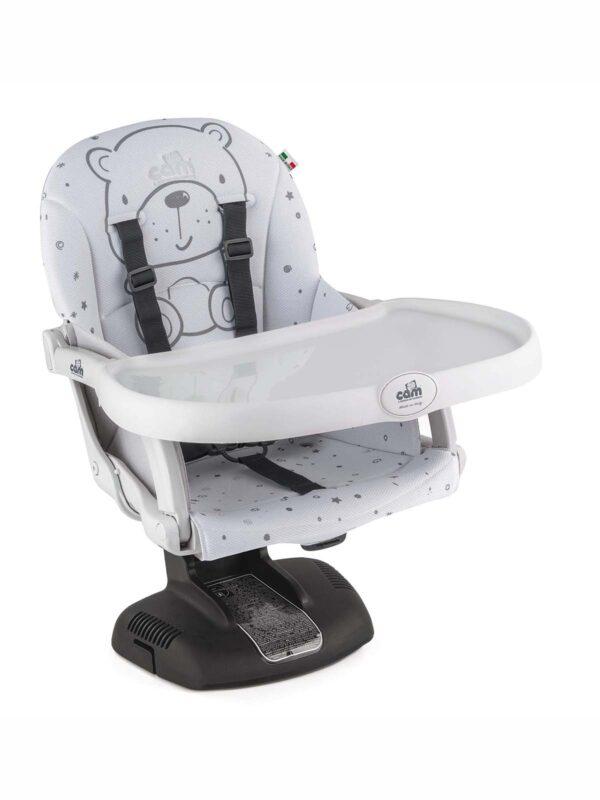 Rialzo da sedia - Idea Teddy Grigio - CAM - Seggioloni e Alzasedia