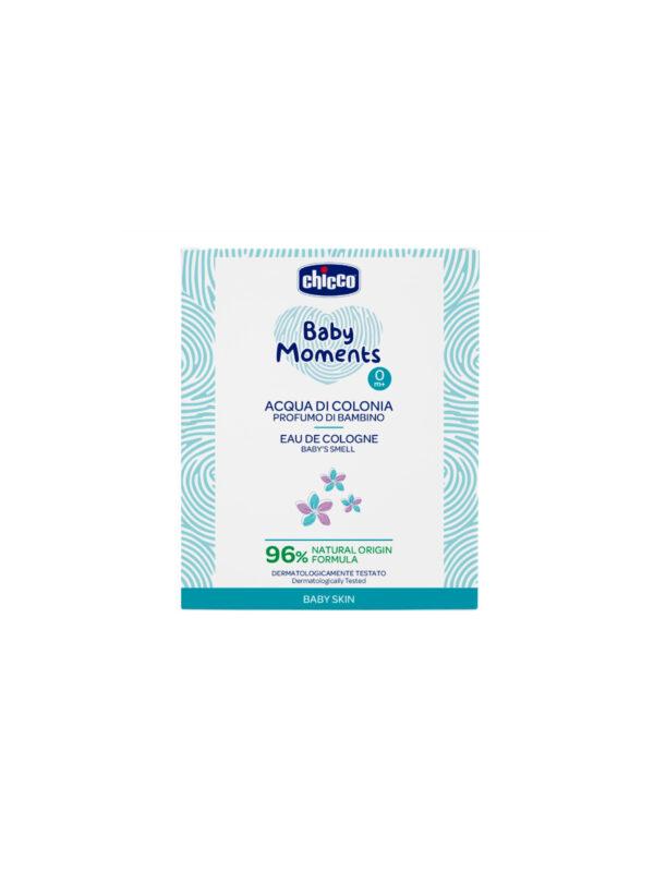 Acqua di Colonia Baby Moments Chicco Baby Skin - CHICCO - Cura e cosmesi bambino