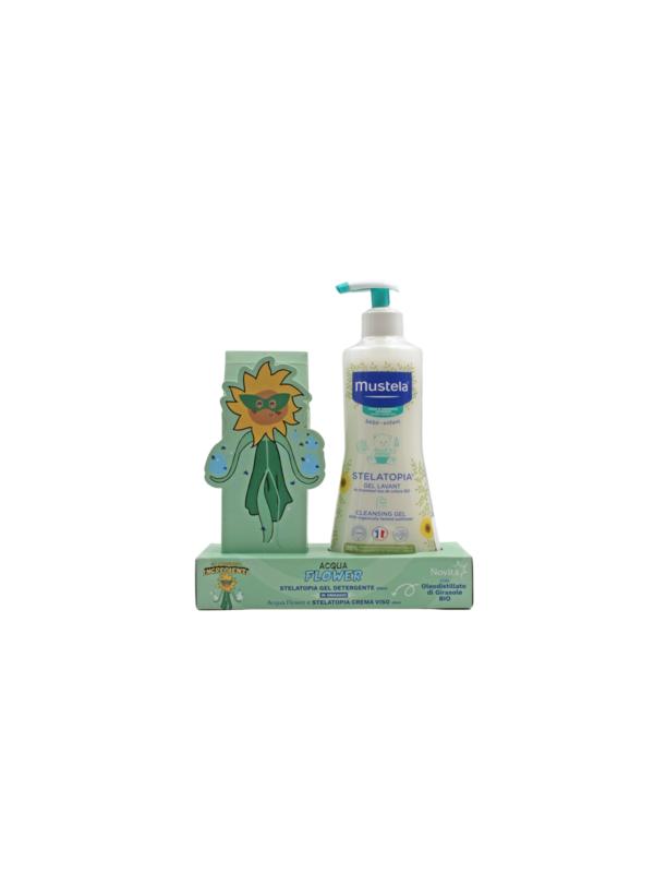 ACQUA FLOWER: STELATOPIA GEL DETERGENTE 500ML + - MUSTELA - Detergenti e creme