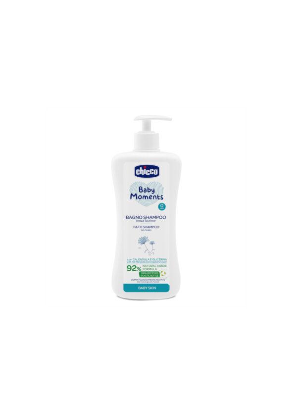 Bagno Shampoo Senza Lacrime Chicco Baby Moments Baby Skin - CHICCO - Detergenti e creme