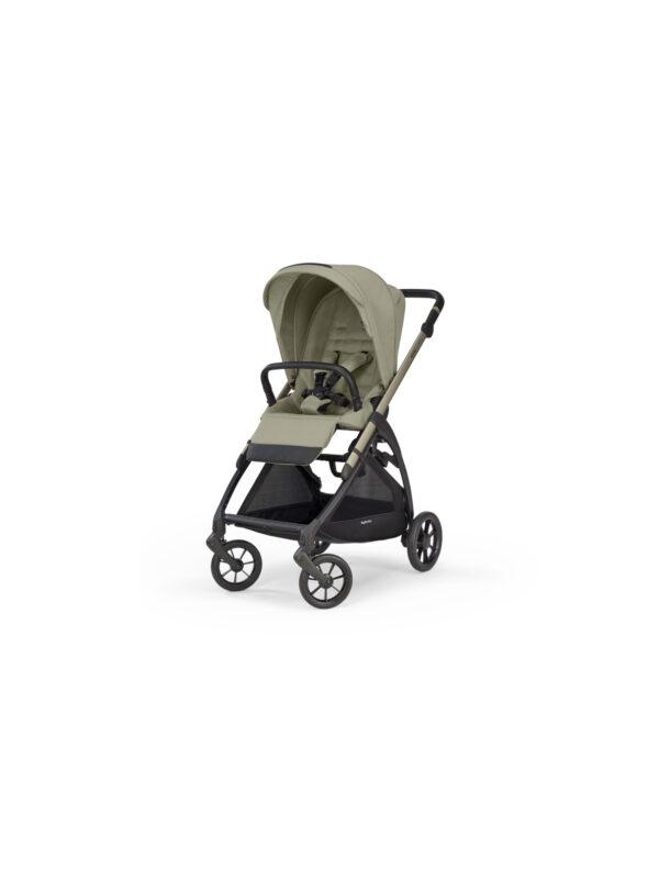 Inglesina - Electa System Quattro con seggiolino Darwin Infant i-Size - colore Nolita Beige con telaio Iridio Black - INGLESINA - Sistemi modulari