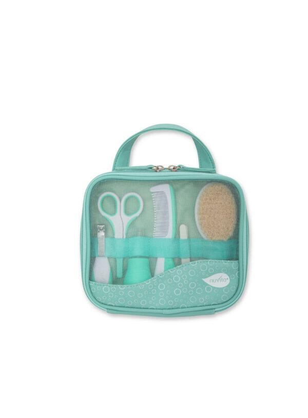 Beauty Set per la cura del bambino - 1146 verde - NUVITA - Cura e cosmesi bambino