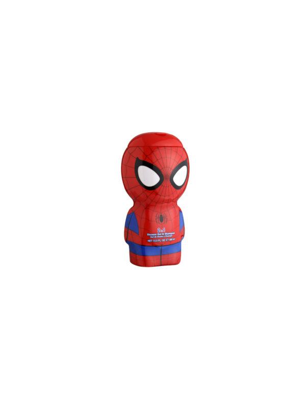 Air-Val - Gel Doccia 2D 400Ml - Spider-Man - SPIDERMAN - Detergenti e creme
