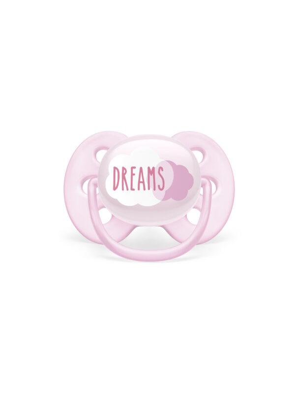 Philips Avent - Succhietto Singolo Ultra Soft 0-6m Femmina - Dreams - AVENT - Ciucci