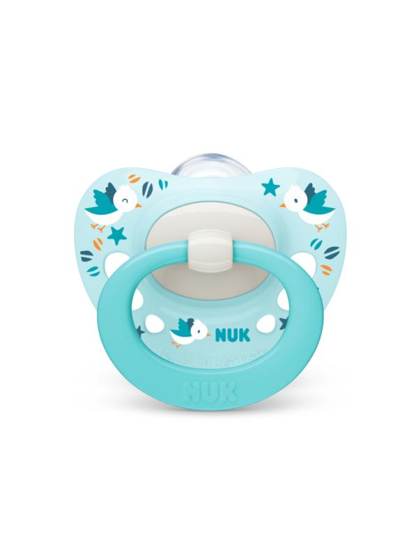 Nuk - Succhietto Signature Silicone 0-6 2Pz - NUK - Ciucci