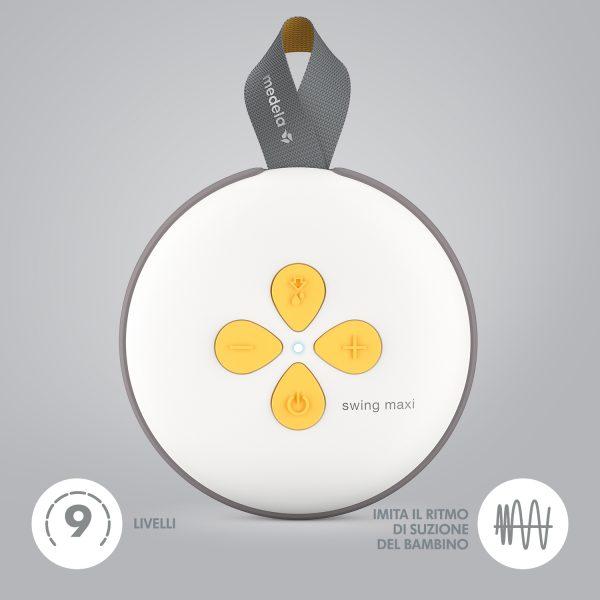 Medela - Tiralatte Elettrico Doppio Swing Maxi - MEDELA - Accessori Pappa e Allattamento