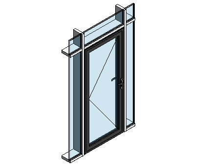 Revit, BIM, Download, Free, Components, Door, Doors, Commercial, AluK, 59BD,Residential,Single,Door, System, Curtain, Wall,  Blyweert, Beaufort, Double,ground,floor,treatment,system,thermal,break