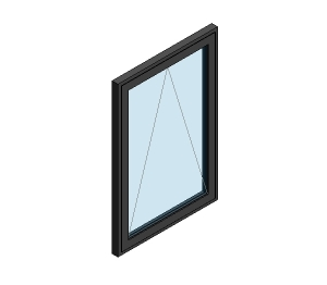 AluK 58BW Residential Open Out Window (Wall Insert)