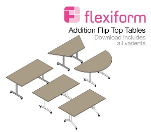 Additions Flip Top Tables