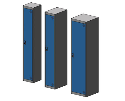 Bim, BIM, Store, Revit,Component,Object,Model,asgard,flexiform,furniture,office,metal,lockers,locker,mild,steel,galvanised