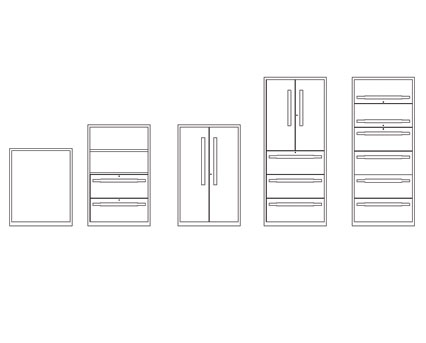 Bim, BIM, Store, Revit,Component,Object,Model,flexiform,furniture,office,metal,jot,hinged,door,storage,unit,cabinet,combination,lateral